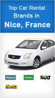 Top Car Rental Brands in Nice